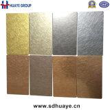 Qualitäts-Kupfer-/Messingüberzug-Schwingung-fertige Edelstahl-Platte