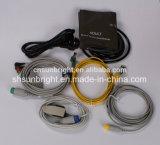 Monitor paciente modular do preço barato de Sun-M600k com a tela de toque para a ambulância