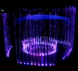 LED Color Changeable Direct Jetting Water Fontaine en acier inoxydable
