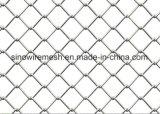 Rete fissa rivestita galvanizzata della maglia di collegamento Chain del PVC della rete metallica del ferro
