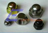 Écrous borgnes voûtés de DIN1587-Hexagon