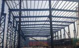 Atelier d'usine de structure métallique de lumière de grande envergure