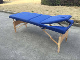 Tabella di massaggio del legname con lo schienale registrabile