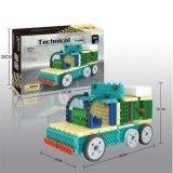 Fernsteuerungs-RC Blöcke des Block-1488716-Trailer des Installationssatz-stellten Ausbildungs-kreatives Spielzeug 76PCS - die gelegentliche Farbe ein