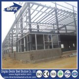 Armazém de aço da estrutura do frame do espaço da grande extensão/fábrica industrial da oficina