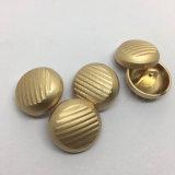 Botón de asta de costura del nuevo del diseño cinc del metal para la capa