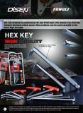 9 PCS gute QualitätsTorx Hex Schlüssel-Set
