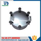 la pressione rotonda Manway dell'acciaio inossidabile Ss304 di 300mm con la metallina ha rifinito