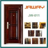 Puerta de acero del hierro exterior de la seguridad de la fabricación de Jaway (JW-907)