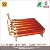 Scambiatore di calore dell'aletta del rame del tubo di rame di prezzi bassi