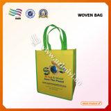 Sac à provisions non tissé bon marché promotionnel de sac d'économie avec le traitement de transport