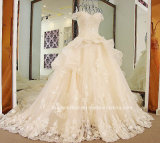 Крышка Sleeves Bridal мантии шарика отбортовывая платье венчания Tb279 Organza