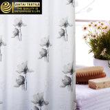 Bella tenda di acquazzone floreale grigia moderna larga su ordinazione