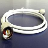 Qualité câble coaxial de liaison de 50 ohms (LMR200)