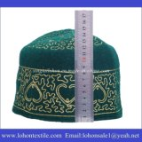 Cappello musulmano del Beanie di Vestigio del cappello del ricamo di modo del feltro delle lane