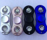Handspinner neues Produkt EDC-helles Spinner-Aluminiumspielzeug-erwachsener Unruhe-Spielwaren-Blinkensled