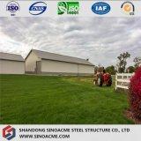 Casa prefabricada de acero para uso agrícola