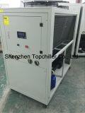 refrigeratore di acqua raffreddato aria industriale del glicol 10kw