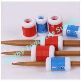 Contador plástico do teste padrão do ponto de confeção de malhas do Crochet de dois tamanhos