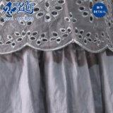 Newstyle graues Sleeveless reizvolles Form-Dame-Kleid mit der Blumen-Aushöhlung