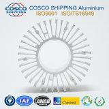 Het concurrerende Profiel van het Aluminium voor Heatsink met het Zilveren Anodiseren en het Machinaal bewerken