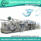 完全なServo Iの形の機械を作る大人のおむつまたは大人の不節制の製品