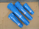 Komprimiertes Luftfilter-Gehäuse mit sterilem Membranen-Kassetten-Filter