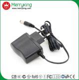adaptador de la corriente continua de la CA 5V500mA con el enchufe de Ek