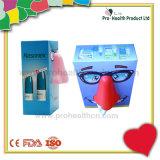 習慣3Dの顔のチィッシュペーパーボックス(PH4608)