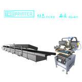Автоматическая печатная машина экрана с печью тоннеля