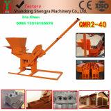 Ökologische Ziegelstein-Maschinen-Qmr2-40 komprimierte Massen-Block-Maschinen-blockierenschmutz-Ziegelstein-Maschine betätigen