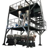 La fabricación gemela plástica del estirador de tornillo de la eficacia alta