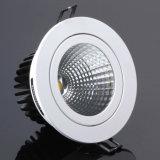 Vertiefte Beleuchtung-Vorrichtung 3000k wärmen weiße LED-Deckenleuchte