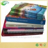 Impression élevée de livre de couleur de Qualityfull avec la bande lue (CKT-BK-320)