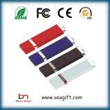 USBは64GB小型プラスチックライターUSBのフラッシュ駆動機構を運転する