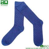 Qualitäts-Großhandelsbaumwollmannschafts-Mann-Socken