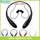 Sport Wireless Neckband Casque stéréo Bluetooth Hbs-800