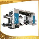 Vier Film-/Papier-flexographische Drucken-Maschine der Farben-OPP/Pet/PE