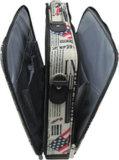 Computer-Notizbuch-Geschäfts-Nylonfunktions-Laptop-Kasten 15.6