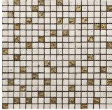 Het natuurlijke Steen Gemengde Mozaïek van het Glas voor Het Materiaal van de Woningbouw (FYSG034)