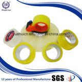 Protección de Environmennal con la cinta de acrílico del amarillo BOPP de la larga vida