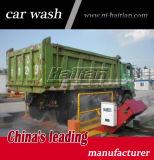건축 용지에 있는 제조자 회전 트럭 바퀴 세척 기계 사용