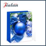 Lamellierter kundenspezifischer Firmenzeichen-Entwurfs-preiswerter Papierförderung-Weihnachtsmattbeutel