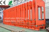 Bande de conveyeur de faisceau de tissu corrigeant la presse, machine de vulcanisation de bande de conveyeur