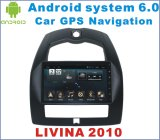 DVD de carro do Android 6.0 para Nissan Livina 2007-2016 com o player do carro