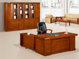 Antique MDF Furniture Bureau en bois Boss Executive Desk