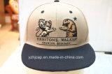 casquillo del Snapback de los sombreros de béisbol del deporte de la era del bordado 3D