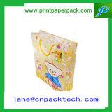 Saco impresso do presente do papel de embalagem de saco de compra do saco costume cosmético