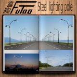 Poste en acier galvanisé de lampe pour la route