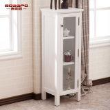 現代光沢のある絵画浴室の虚栄心の木のキャビネット(GSP14-010)